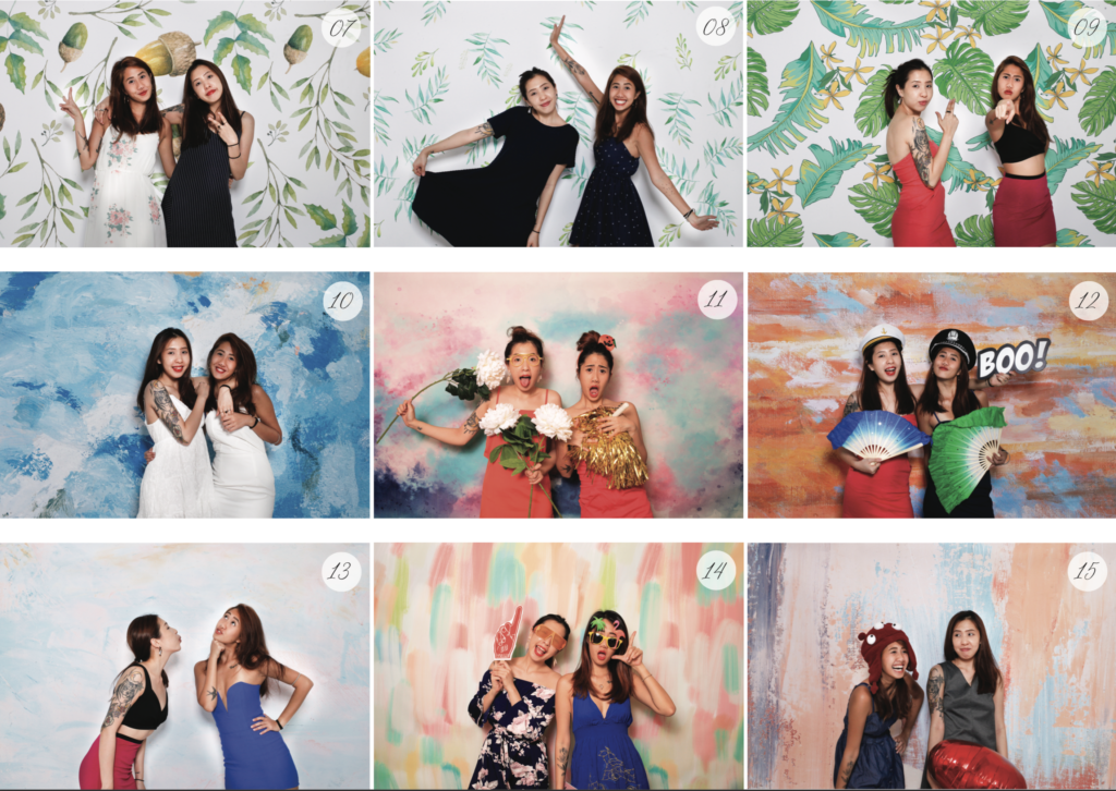 2020 photo booth backdrop rental events weddings birthday party