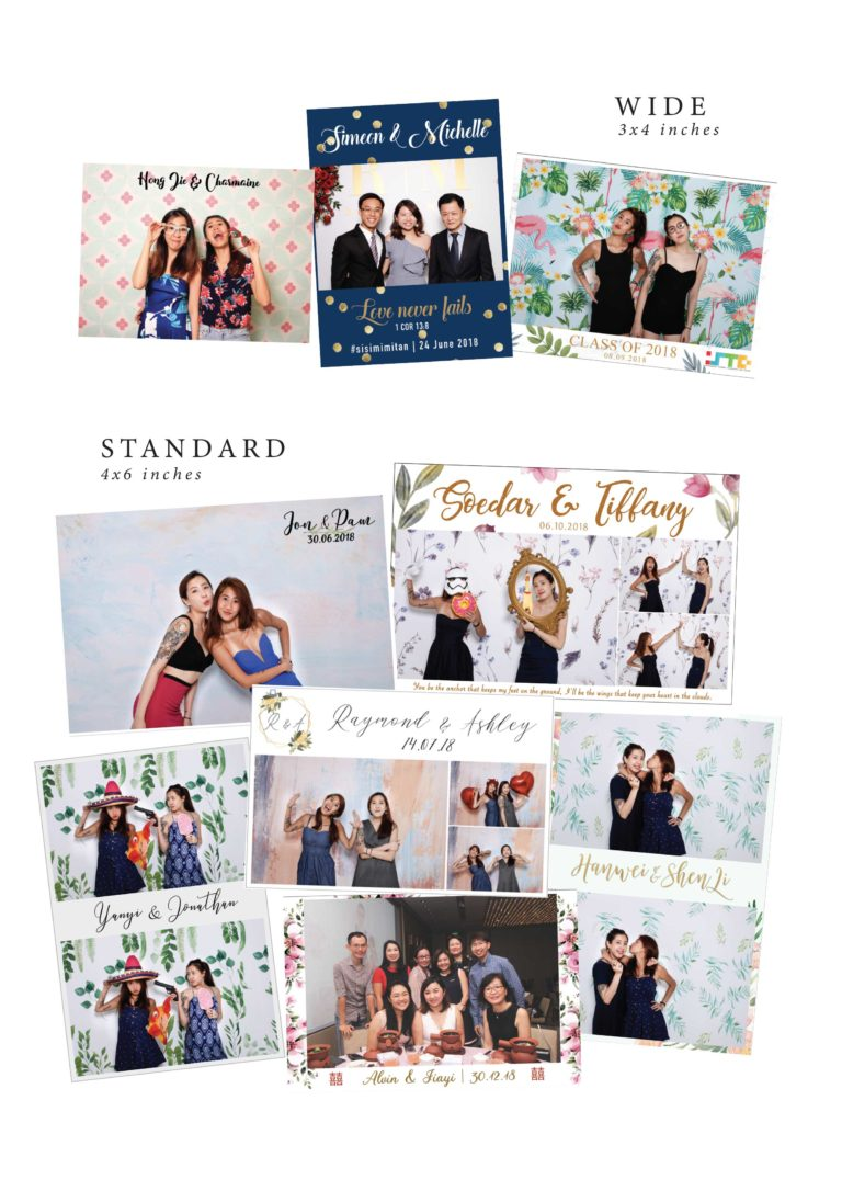 2020 photo booth packages for events weddings birthdays