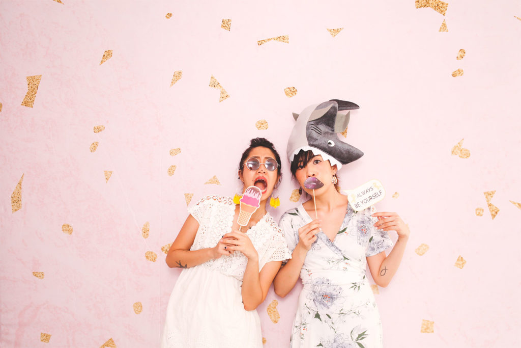 Photo booth and photography event backdrop and rental