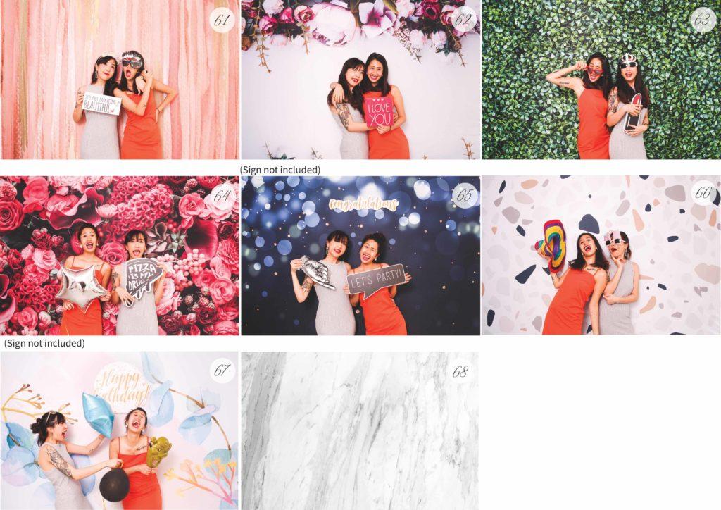 telltale photo booth backdrop rental